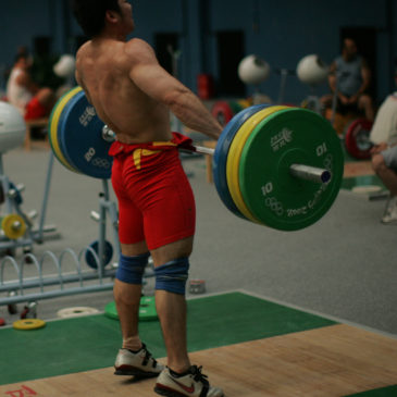 Olympic Lifting: Friday 4th August